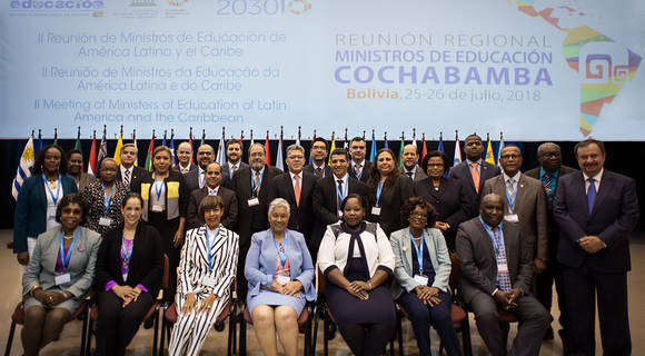 Ministers of Latin America and the Caribbean adopt Roadmap for moving towards SDG4 Education 2030 quality, inclusive, equitable education