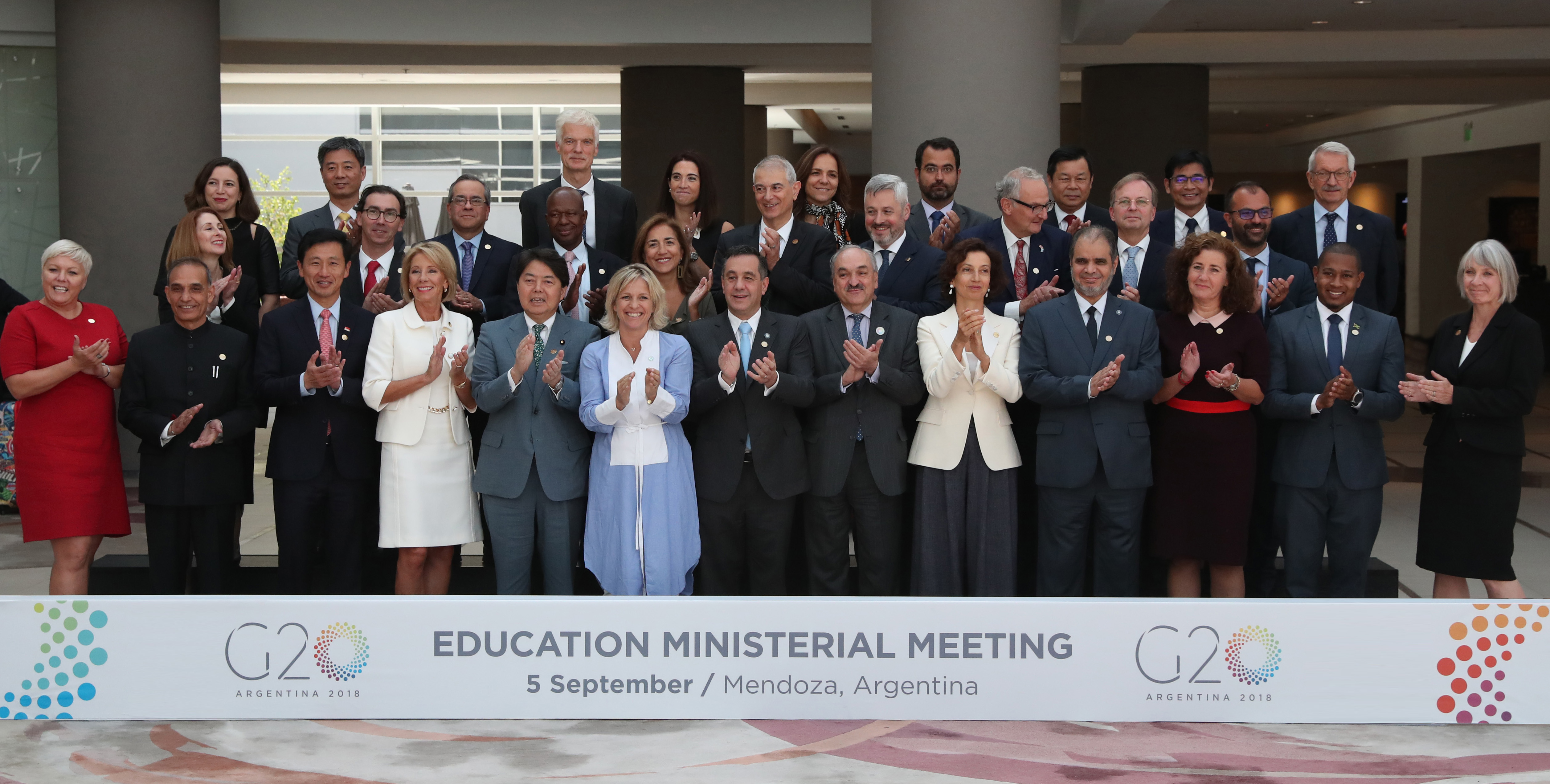 G20 Education Ministerial Meeting 5 September 2018 Mendoza Argentina