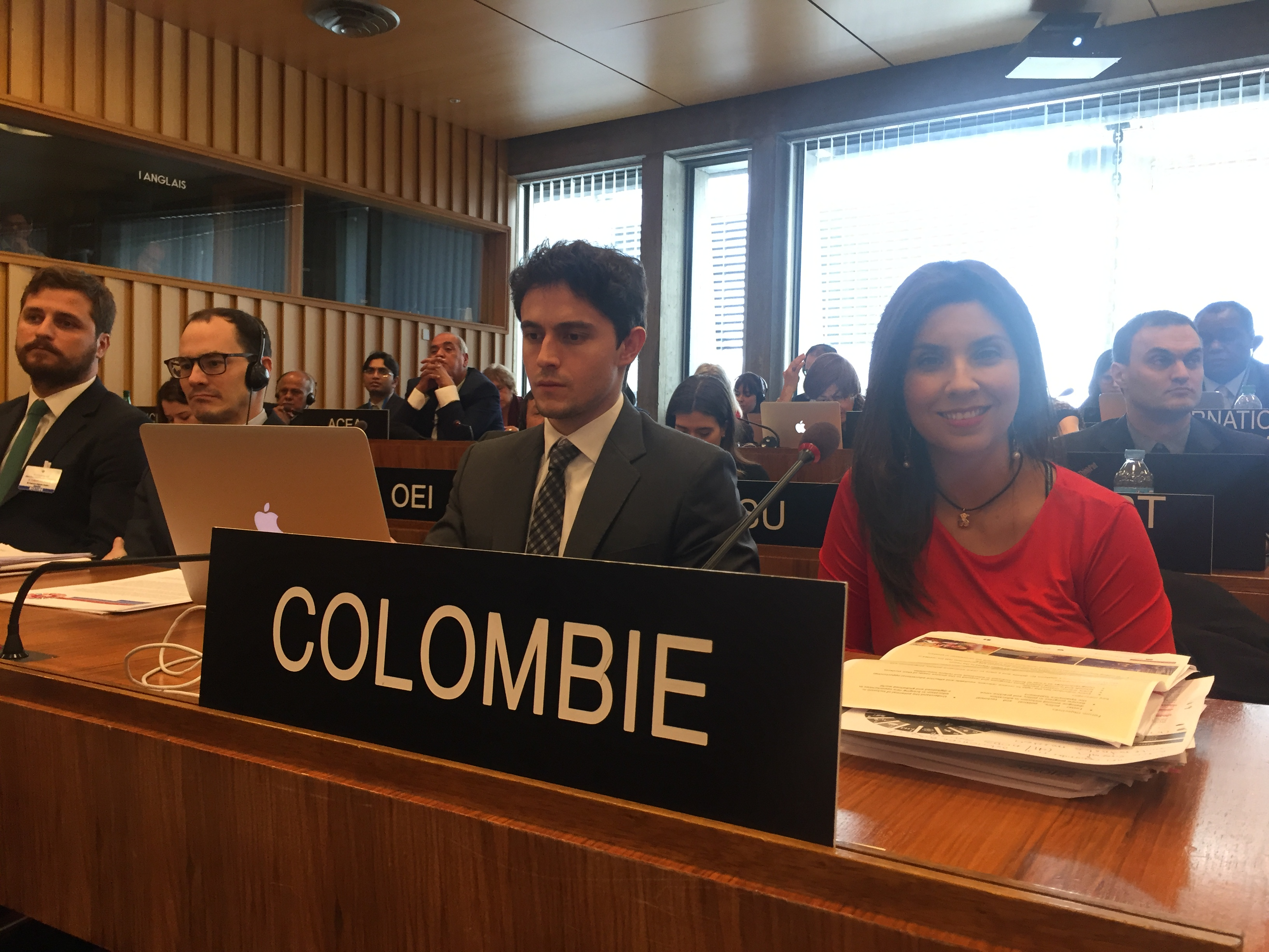 Minister of National Education of Colombia speaks about SDG4, 12 March 2019