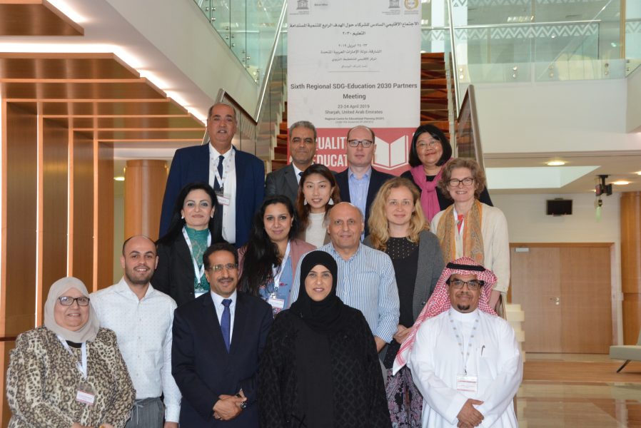 Sixth Arab Regional SDG-Education 2030 Partners Meeting, 23-24 April 2019