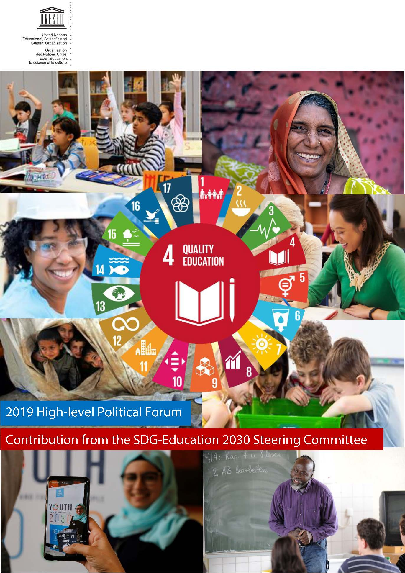 2019 High-level Political Forum Contribution from the SDG-Education 2030 Steering Committee (SDG-Education 2030 SC, March 2019)