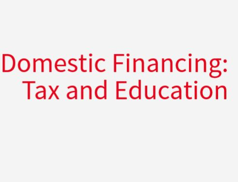c Norrag Special issue on Domestic Financing: Tax and education