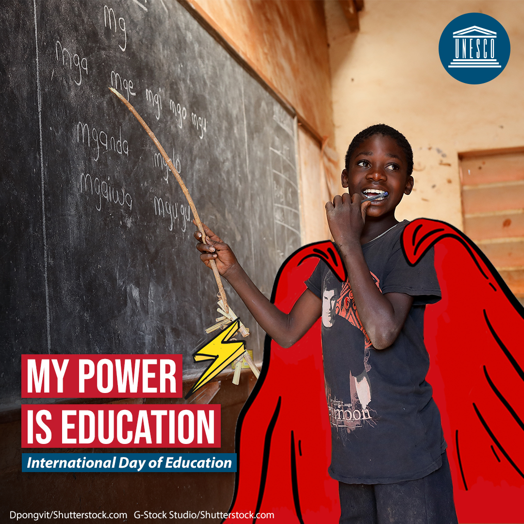 My power is education c UNESCO c Shutterstock G-Stock studio