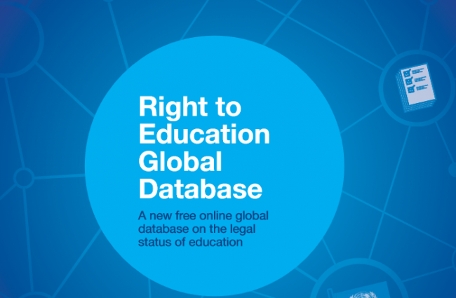 The right to education database