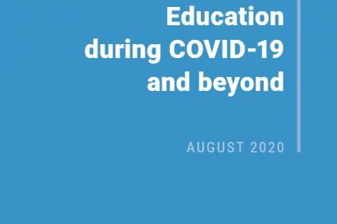 UN Secretary General Policy Brief: Education during COVID-19 and beyond